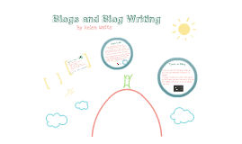 Blogs and Blog Writing