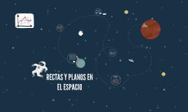 RECTAS Y PLANOS EN EL ESPACIO