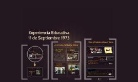 Experiencia Educativa 11 09 73