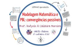 MM e PBL: convergências possíveis.