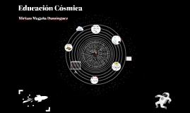 Educación Cósmica
