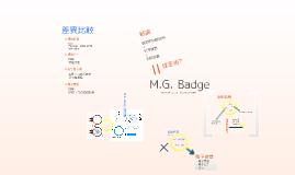 M.G. Badge
