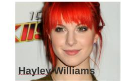 Elle s'appelle Hayley Williams.