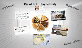 Pie of Life: Play Activity