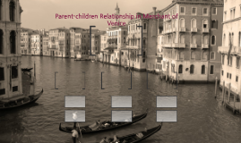 Parent-children Relationship in Merchant of Venice