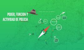 Copy of PODER, FUNCION Y ACTIVIDAD DE POLICIA