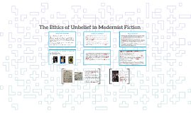 The Ethics of Belief in Modernist Fiction