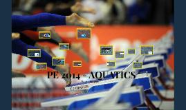 PE 2014 - AQUATICS
