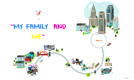"""Copy of Copy of """"MY FAMILY  AND  ME"""""""