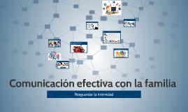 Comunicación efectiva con la familia