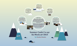 Summer Cadet Co-op: Six Weeks at CRGS