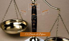 El Derecho de Defensa