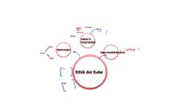 Ethik der Gabe, Teil 2