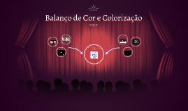 Balanço de Cor e Colorização
