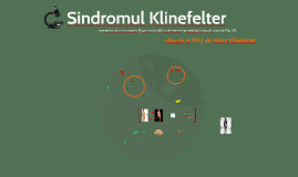 Sindromul Klinefelter