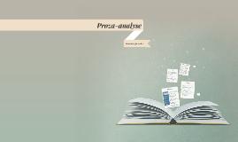 Proza-analyse