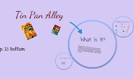 Unit 5: The Roaring Twenties, p. 15 Tin Pan Alley