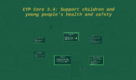 Copy of CYP Core 3.4: Support children and young people's health and