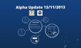Update - 13/11/2013