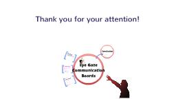 Eye Gaze Communication Boards