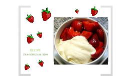 strawberries and cream recipe