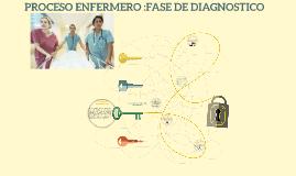 Copy of PROCESO ENFERMERO FASE DE DIAGNOSTICO
