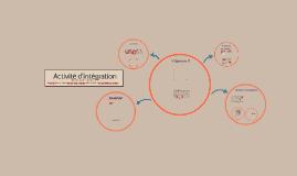 Copy of Activité d'intégration