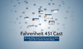 Fahrenheit 451 Cast