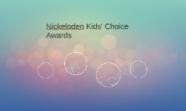 Nickeloden Kids' Choice Awards