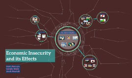 Copy of Economic Insecurity and its Effects