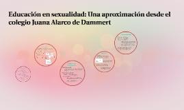 Copy of Sexualidad en la escuela