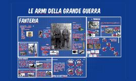 Copy of Le armi della grande guerra