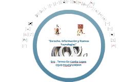 Copy of Derecho, Información y Nuevas Tecnologías
