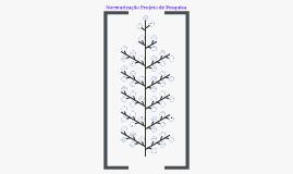 Normatização de Projetos de Pesquisa - FURB