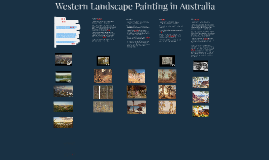 Western Landscape Painting in Australia