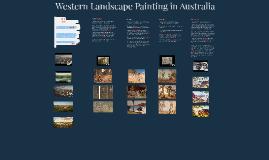 Depictions of the Australian Landscape