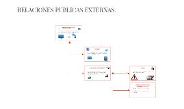 RELACIONES PUBLICAS EXTERNAS.