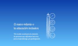 Modelo Social, Educacion Inclusiva -capitulo 5-
