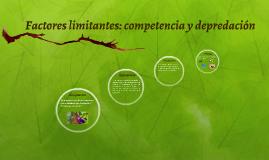 Factores limitantes: competencia y depredacion