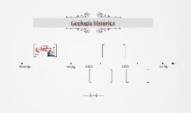 Geologia històrica