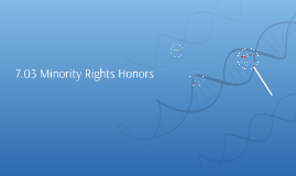 7.03 Minority Rights Honors
