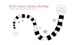 Google docs: Oct 26 Library Meeting