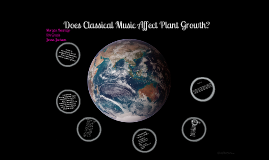 does classical music affect plant growth