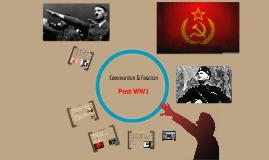 fascism & communism