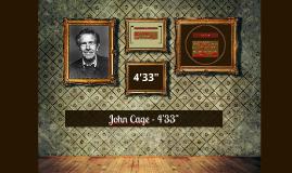 "Copy of John Cage - 4'33"""