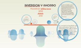 INVERSION Y AHORRO
