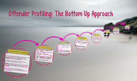 Copy of Offender Profiling: The Bottom Up Approach