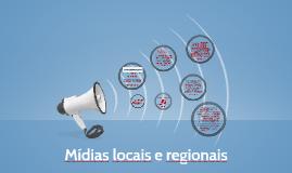 Mídias locais e regionais