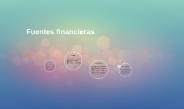 Fuentes financieras
