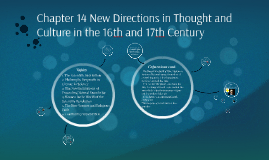 Chapter 14 New Directions in Thought and Culture in the 16th